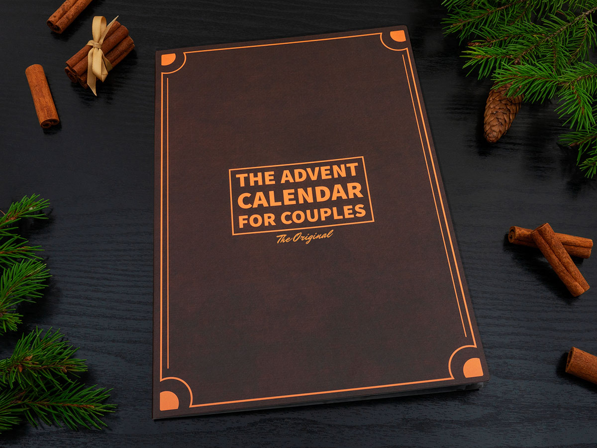 The Advent Calendar for Couples - The Original - Front