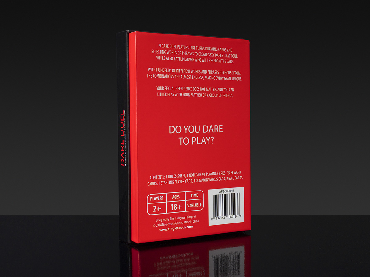 Dare Duel - Box Back