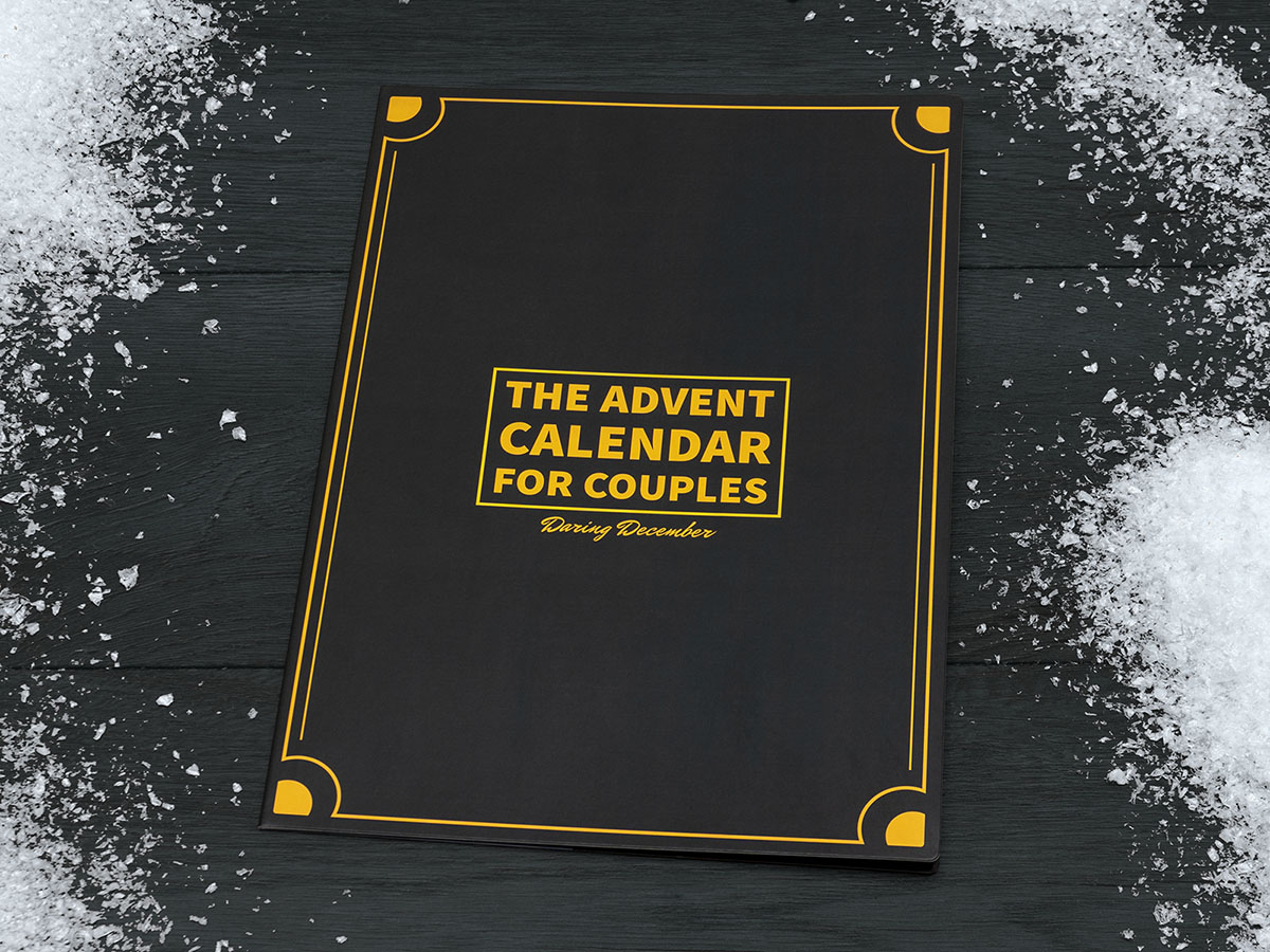 The Advent Calendar for Couples - Daring December - Front