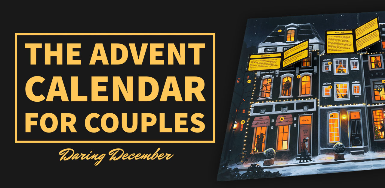 The Advent Calendar for Couples - Daring December